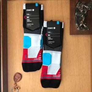Stance men's socks. 2 pairs. Golf or running